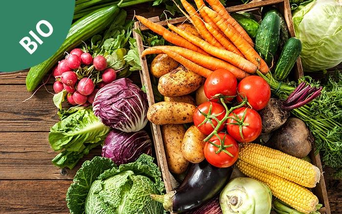 Ingrosso Frutta e verdura biologia